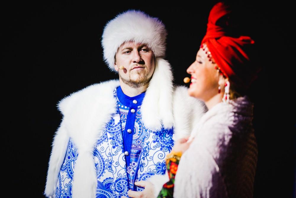 Ледовое шоу «Птица счастья»